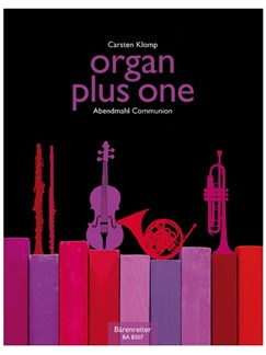 Organ Plus One: Communion (Score And Parts) Books | Organ, Ensemble