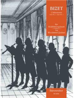 Georges Bizet: L'Arlésienne Suite Nr. 1 Für Holzbläserquintett Books | Wind Quintet