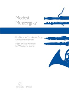Modest Mussorgsky: Night On Bald Mountain - Arranged For Woodwind Quintet Books | Wind Ensemble