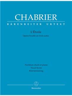 E. Chabrier: L'Etoile (Vocal Score) Books | Opera