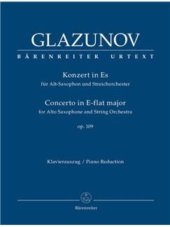 A. Glazunov: Alto Saxophone Concerto Op.109 (Alto Saxophone & Piano) Books | Alto Saxophone, Piano Accompaniment