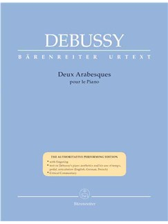 Claude Debussy: Deux Arabesques Pour Le Piano Books | Piano