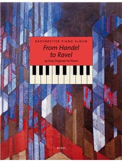 Michael Topel: Barenreiter Piano Album - From Handel to Ravel: 39 Easy Originals Books | Piano