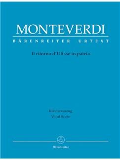 C. Monteverdi: Il Ritorno D'Ulisse In Patria (Vocal Score) Books | Opera