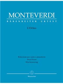 Claudio Monteverdi: L'Orfeo - Vocal Score Paperback Books |
