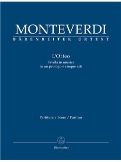 Claudio Monteverdi: L'Orfeo - Large Score Paperback Books |