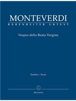 Vespers 1610, Vespro della Beata Vergine Books | Choral, Orchestra