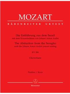 Wolfgang Amadeus Mozart: Die Entführung Aus Dem Serail Overture Libro | Orquesta