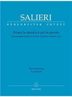 Antonio Salieri: Prima La Musica E Poi Le Parole (Vocal Score) Books | Opera