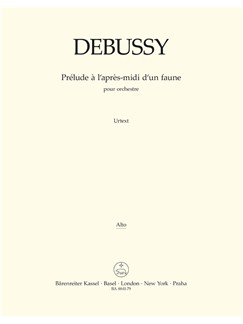 C. Debussy: Prelude A L'Apres-Midi D'Un Faune - Prelude To The Afternoon Of A Faun (Viola) Books | Orchestra