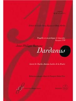 Jean-Philippe Rameau: Dardanus Books   Opera