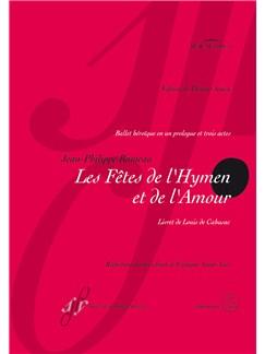 Jean-Philippe Rameau: Les Fetes De l'Hymen Et De l'Amour (Urtext) Books | Opera