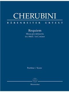 L. Cherubini: Requiem In C Minor - Missa Pro Defunctis (Full Score) Books | Choral, Orchestra, SATB