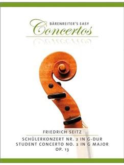 Friedrich Seitz: Schülerkonzert Nr. 2 Books | Violin, Piano