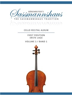Cello Recital Album: Volume 1 Books | Cello, Piano Accompaniment