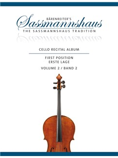 Cello Recital Album: Volume 2 Books | Cello, Piano Accompaniment