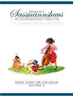 E. Sassmannshaus: Early Start On The Cello - Volume 2 Books | Cello
