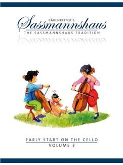 E. Sassmannshaus: Early Start On The Cello - Volume 3 Books | Cello