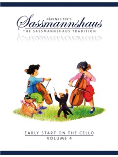 E. Sassmannshaus: Early Start On The Cello - Volume 4 Books | Cello
