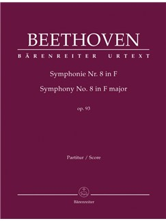 Ludwig Van Beethoven: Symphony No.8 In F Op.93 (Full Score) Books | Orchestra