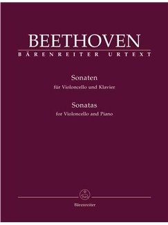 Ludwig van Beethoven: Sonata For Violoncello And Piano Books | Cello, Piano Accompaniment