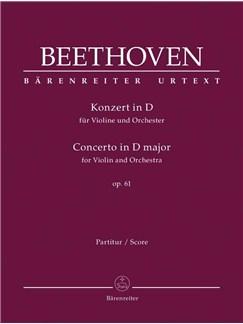 Ludwig van Beethoven: Konzert Für Violine Und Orchester Books | Violin, Orchestra