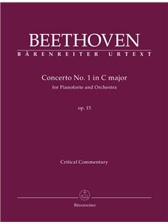 Concerto No. 1 C Major Op. 15: For Pianoforte And Orchestra Books | Orchestra