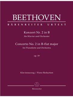 Concerto For Pianoforte And Orchestra No. 2 B-Flat Major Op. 19 Books | Piano (Duet)