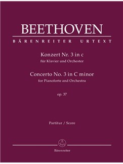 Concerto No.3 In C Minor Op.37 For Piano: Full Score Books | Orchestra, Piano