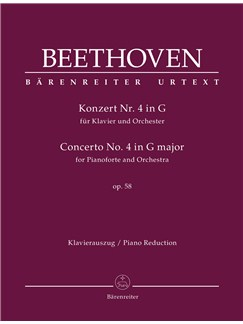 Ludwig Van Beethoven: Piano Concerto No.4 In G Op.58 (Two-Piano Reduction) Books | Two Pianos