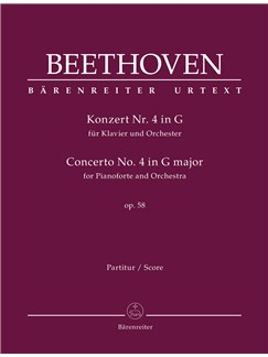 Ludwig Van Beethoven: Piano Concerto No.4 In G Op.58 (Full Score) Books | Orchestra