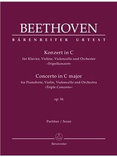 "Ludwig van Beethoven: Concerto for Pianoforte, Violin, Violoncello and Orchestra In C Op.56 ""Triple Concerto"" Books | Violin, Cello, Piano, Orchestra"