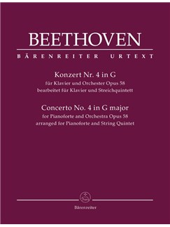 Ludwig Van Beethoven: Sextet Based On The Piano Concerto No.4 In G Op.58 (Score And Parts) Books | Piano Chamber