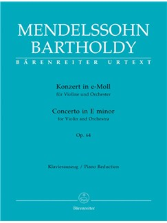 F. Mendelssohn: Violin Concerto In E Minor Op.64 - Later Popular Version (Violin And Piano) Books | Violin, Piano Accompaniment