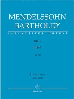 F. Mendelssohn: Elijah Op.70 (Vocal Score) Books | Choral, Orchestra