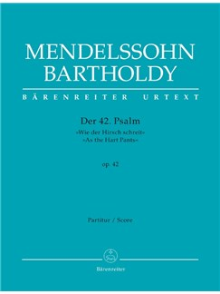 Psalm 42 Op.42 (As The Hart Pants) Books | Choral