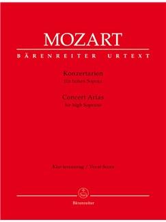 Concert Arias for High Soprano Books | Voice, Piano Accompaniment