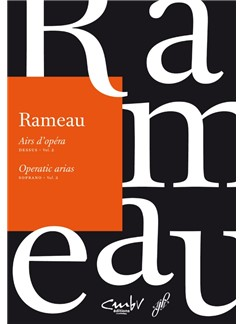 J-P. Rameau: Operatic Arias - Soprano (Volume 2) Books | Voice, Piano Accompaniment