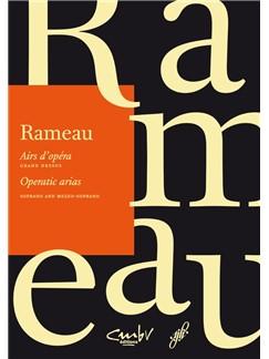 J-P. Rameau: Operatic Arias - Soprano & Mezzo-Soprano Books | Voice, Piano Accompaniment