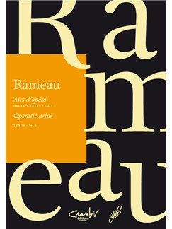 J-P. Rameau: Operatic Arias - Tenor Volume 1 Books | Voice, Piano Accompaniment