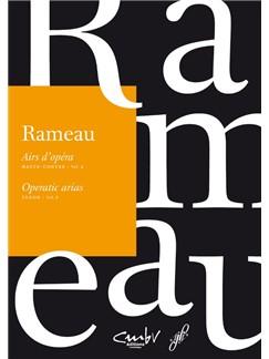 J-P. Rameau: Operatic Arias - Tenor (Volume 2) Books | Voice, Piano Accompaniment