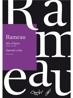 J-P. Rameau: Operatic Arias - Baritone Livre | Voix, Accompagnement Piano