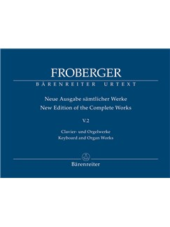 Johann Jacob Froberger: Keyboard & Organ Works, Vol. 5/2 - Works From Copied Sources (Polyphonic Works) Books | Harpsichord, Organ