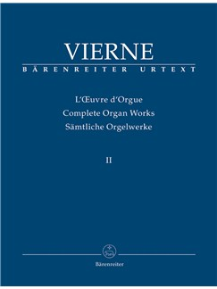 Louis Vierne: Organ Works Vol. 2 - Symphonie No.2, Op.20 (1902/03) - Urtext Books | Organ