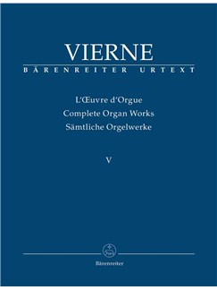 Louis Vierne: Organ Works Vol. 5: Symphonie No.5, Op.47 Books | Organ