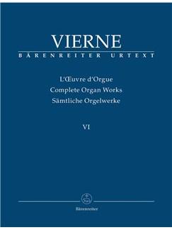 Louis Vierne: Complete Organ Works Volume VI - Symphonie No.6 Op.59 Books | Organ