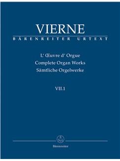 L. Vierne: Organ Works Vol.7/1 - Pièces De Fantaisie En Quatre Suites Livre 1 Op.51 Books | Organ