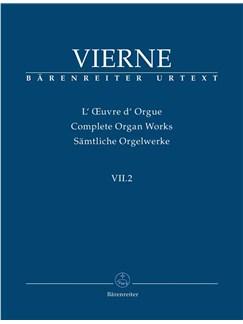 Louis Vierne: Sämtliche Orgelwerke Band VII.2: Pièces De Fantaisie En Quatre Suites Livre 2 Books | Organ