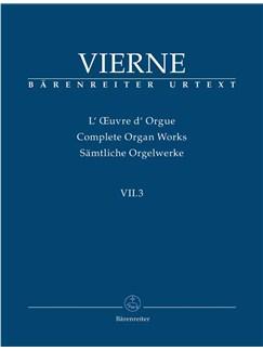 Louis Vierne: Sämtliche Orgelwerke Band VII.3: Pièces De Fantaisie En Quatre Suites, Livre 3 Books | Organ