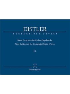 H. Distler: Organ Works Vol.3 Books | Organ